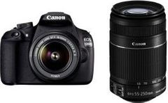 Canon CANON EOS 1200D DSLR CAMERA WITH EF-S 18-55 & 55-250 IS II LENS