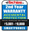 Etechies SmartPhone 1 Year Extended Accidental Damage Protection (For Device Worth Rs 5001 - 8000)