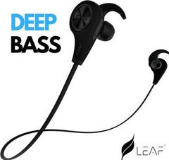 299e9d319a7 Leaf Wireless Bluetooth Earphones With Mic Best Price in India 2019, Specs  & Review | Smartprix