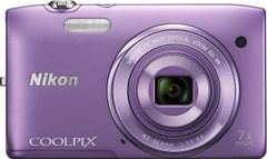 Nikon COOLPIX S3500 20.1MP Digital Camera