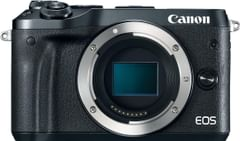 Canon EOS M6 24MP Mirrorless Digital Camera (Body Only)