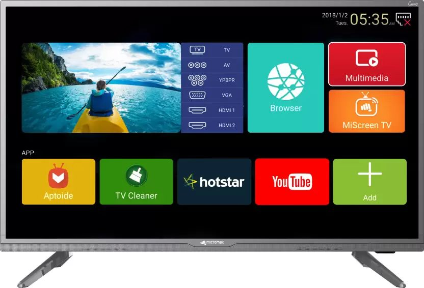 a7354a86cf8 Micromax 40 Canvas 3(40-inch) Full HD Smart LED TV Best Price in India 2019