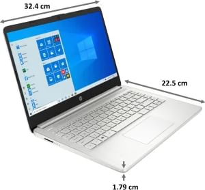 HP 14s-dq2101TU Laptop (11th Gen Core i3/ 8GB/ 256GB SSD/ Win10)