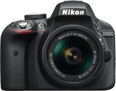 Nikon D3300 DSLR (AF-P 18-55mm VR Lens)