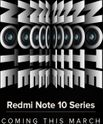 Teaser Alert: Redmi Note 10 Series Coming this March