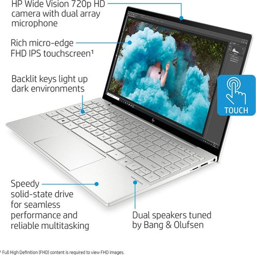 HP Envy 13-ba1010nr Laptop (11th Gen Core i7/ 8GB/ 256GB SSD/ Win10 Home)