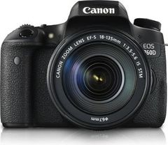 Canon EOS 760D DSLR Camera (EF-S 18-135mm IS STM)