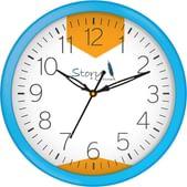 Story@Home Round Plastic Wall Clocks Sale