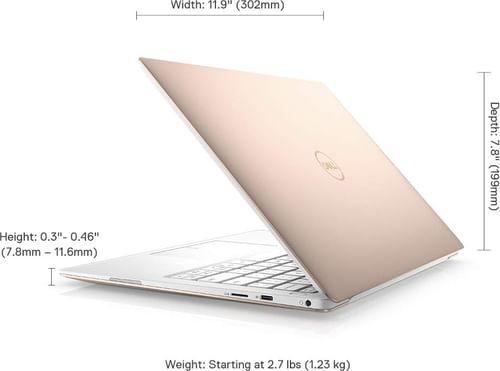 Dell XPS 9380 Laptop (8th Gen Core i7/ 16GB/ 512GB SSD/ Win10 Home)
