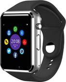 Jokin Bluetooth A1 Smart Watch Touchscreen Multi Function with Camera, Sim Card and Multilanguage SupportCompatible with All Smartphones (Silver)