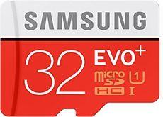 Samsung EVO Plus 32GB microSD Card   Extra 38 OFF via Coupon