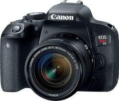 Canon EOS Rebel T7i DSLR Camera (EF-S 18-55mm IS STM Lens + 75-300mm III Lens)