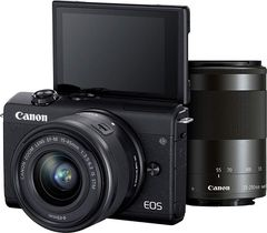Canon EOS M200 Mirrorless Camera with EF-M15-45mm and EF-M55-200mm STM Lens