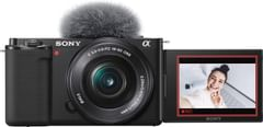 Sony ZV-E10 24MP Mirrorless Camera With 16-50 mm Lens