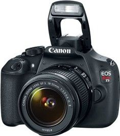 Canon EOS Rebel T5 DSLR Camera (EF-S 18-55mm IS II + 18-135mm Lens)