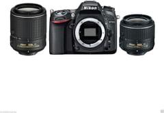 Nikon D7100 DSLR Camera (18-55mm +55-200mm VR Lens)