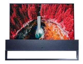 LG Signature 65-inch Ultra HD 4K OLED TV R