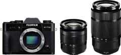 Fujifilm X-T10 Mirrorless Digital Camera Kit with Xc16-50mm Lenses