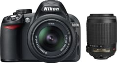 Nikon D3100 (with AF-S 18 - 55 mm VR Kit + Nikon AF-S DX VR Zoom-Nikko DSLR Camera)