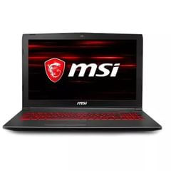 MSI GV62 8RD-092CN Gaming Laptop (8th Gen Ci7/ 8GB/ 1TB 128GB SSD/ Win10 Home/ 4GB Graph)