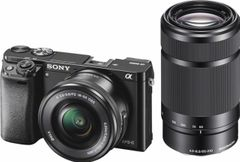 Sony ILCE-6000Y Mirrorless Camera (16-50mm & 55-210mm Lens)