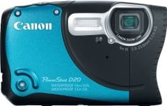 Canon PowerShot D20 12.1MP CMOS Waterproof Digital Camera