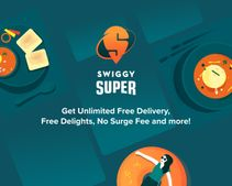 Swiggy Super Membership: Unlimited Free Delivery, Free Delights, No Surge Fee & More
