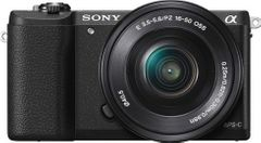 Sony Alpha ILCE-5100L Mirrorless Camera (SELP 16-50mm Lens)