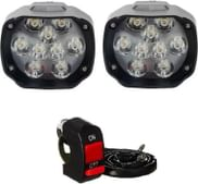 Petrox Fog Lamp LED  (Universal For Bike, Universal For Car, Pack of 2)