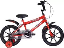 Hero Stomper 16 T Recreation Cycle  (Single Speed, Red)