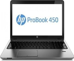 HP ProBook 450 G2 (J9J37PA) Laptop (4th Gen Ci3/ 4GB/ 500GB/ Free DOS)