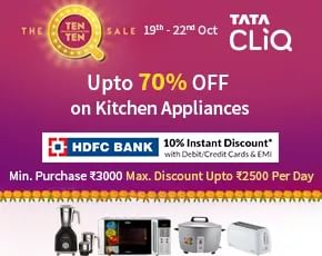 Tata Cliq Appliances Sale
