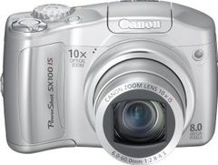 Canon PowerShot SX100IS 8MP Digital Camera