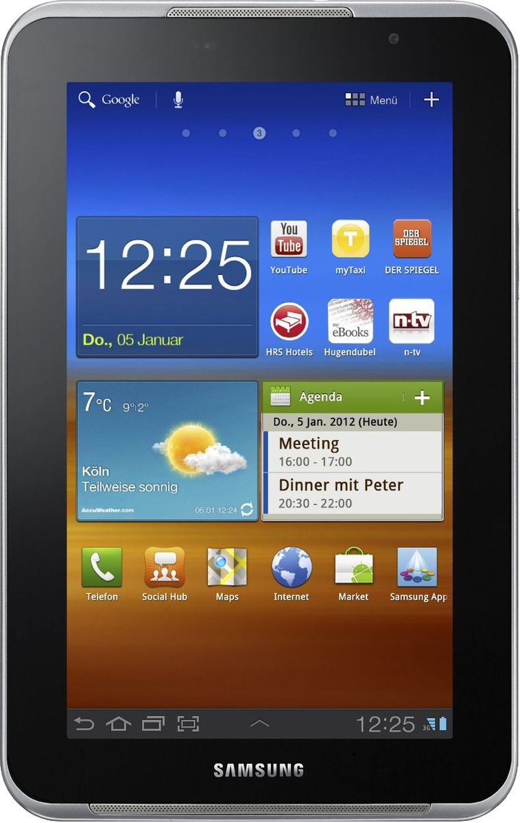 Samsung P6200 Galaxy Tab 7 0 Plus (16GB)