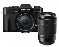 Fujifilm X-T20 24.3 MP Mirrorless Camera (XC 16-50 mm OIS B CD  + XC 50-230mm OIS II)