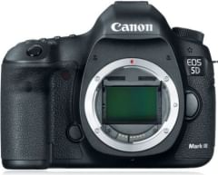 Canon EOS 5D Mark - III 22.3 MP DSLR Camera (Body Only)