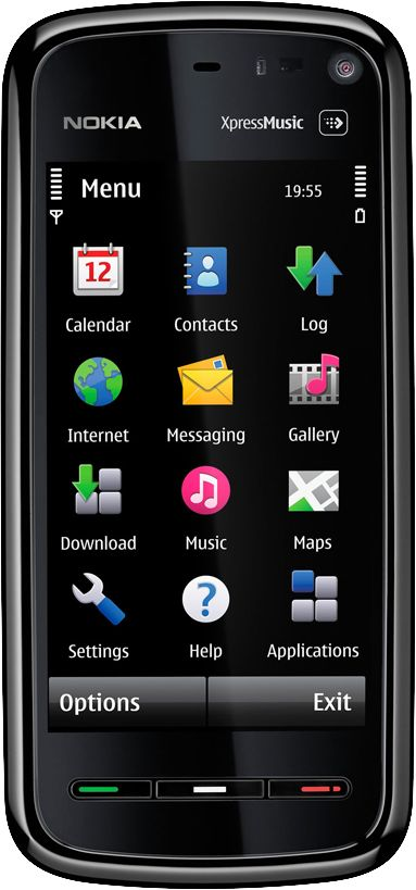 how to format nokia 5800 xpressmusic phone memory
