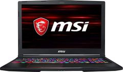 MSI GE63 RGB 9SF-800IN Laptop (9th Gen Core i7/ 16GB/ 1TB 512GB SSD/ Win10/ 8GB Graph)