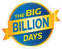 The Big Billion Days -  Great Offers + 10% Instant Bank Discount