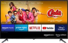 AmazonBasics AB32E10SS Fire TV Edition 32-inch HD Ready Smart LED TV