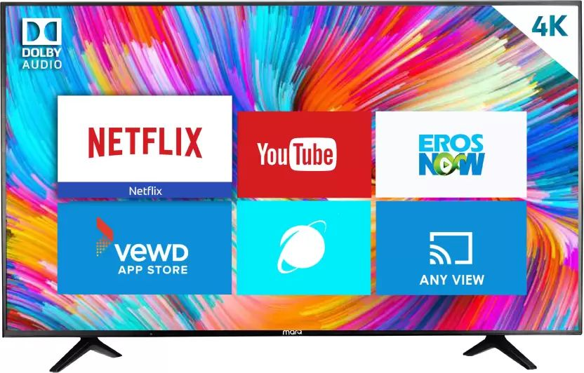 Marq 55hsuhd 55 Inch Ultra Hd 4k Smart Led Tv Best