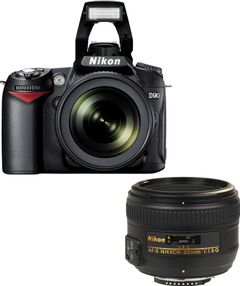 Nikon D90 with 18-105mm + 50mm Lens