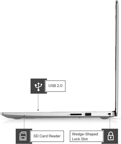 Dell Inspiron 3593 Laptop (10th Gen Core i3/ 4GB/ 1TB 256GB SSD/ Win10 Home)