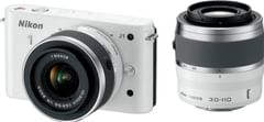 Nikon 1 J1 Mirrorless Camera (10-30 mm & 30-110 mm Lenses)