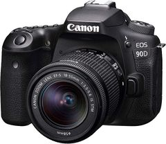 Canon EOS 90D DSLR Camera with EF-S18-55mm f/4-5.6 is STM Lens