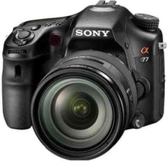 Sony Alpha SLT-A77 with 16-105mm Lens