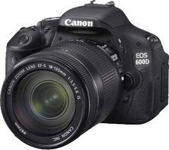Canon EOS 600D DSLR (EF-S 18-135mm IS)