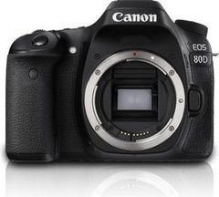 Canon EOS 80D 24.2 MP DSLR Camera (Body Only)