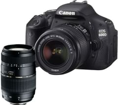 Canon EOS 600D (EF-S18-55mm IS II Lens and Tamron AF 70-300mm F/4-5.6 DSLR Camera