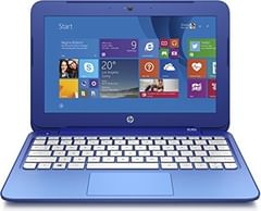 HP Stream 11-d010nr (K2L95UA) Laptop (Intel Celeron N2840/ 2GB/ 32GB SSD/ Win8.1)